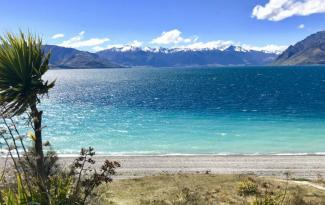 685 hawea lake blue