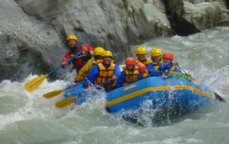 Family Adventures rafting Queenstown