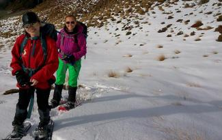 Family Snowshoeing 2
