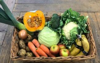 Queenstown Organics Whole Foods Veggie Basket