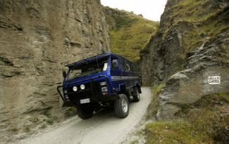 Skippers Canyon 4wd family adventure 4