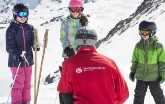 The Remarkables ski school