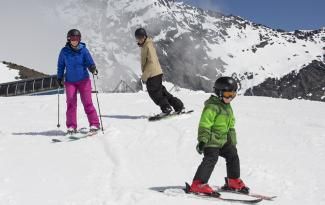 The Remarkables skiing with kids