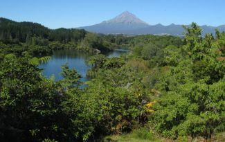 Barrett Domain and Lake Mangamahoe New Plymouth