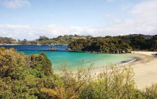 Bathing Beach Stewart Island