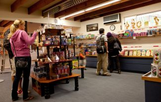 Puzzling World shop