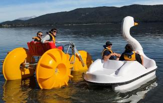 Fiordland Jet pedal boats for web