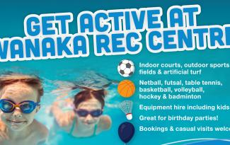 Wanaka Rec Centre win 18