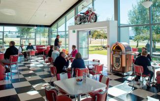 Warbirds and Wheels cafe