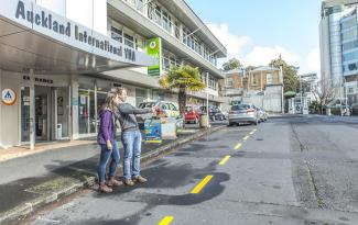 yha auckland international outside